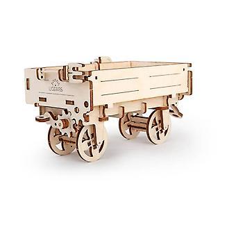 Tractors Trailer UGears 3D Wooden Model Kit