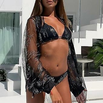 Summer Beachwear Rhinestones Sexy Swimsuit