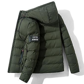 Winter Men Running Jackets, Jogging Sports Windproof Warm Sportswear Coat