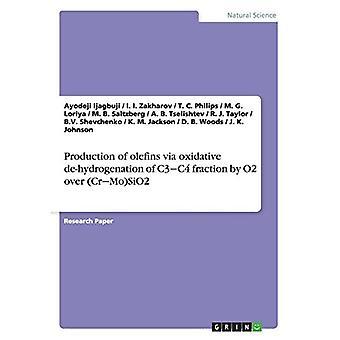 Olefiinien tuotanto oksidatiivisen C3 'C4-fraktion hydrauksen kautta O2:lla (Cr 'Mo)SiO2