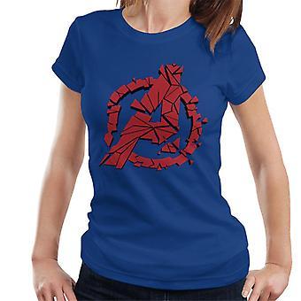 Marvel Avengers Shattered A Icon Women's T-Shirt