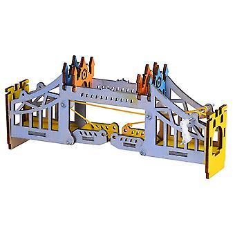 DIY Bridge Intelligence Training Building Block Bridge Model Blocks Toys