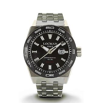 Locman Wristwatch STEALTH 300Mt 0215V1-0KBKNKBR0