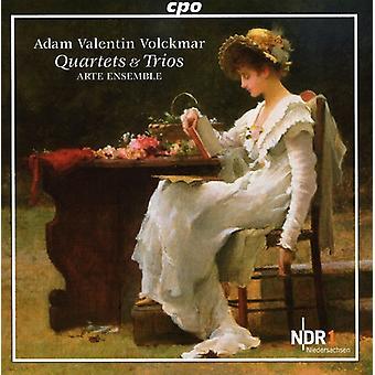 Arte Ensemble - Adam Valentin Volckmar: Kvartetter & Trios [CD] USA import