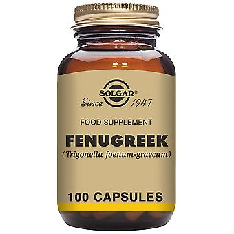 Solgar FenugrecFenugreek 520 mg 100 Vegetable Capsules