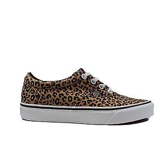 Vans WM Doheny Cheetah Canvas Womens Lace Up Sneakers
