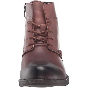 Propet Women's Tatum Lace Bootie Ankle Boot, Brown, 06 2E US