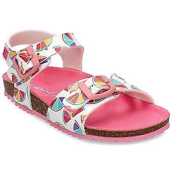 Agatha Ruiz De La Prada 202986 202986ABLANCOYMANDARINAS uniwersalne buty dziecięce