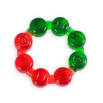 Tandjes ring T1209 kralen, BPA-vrij, koeling tandjes ring als vertandingshulp vanaf 3 maanden