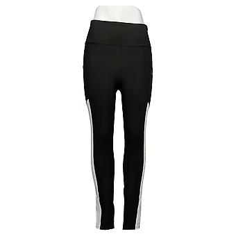MIND BODY LOVE by Peace Love World Leggings ColorBlocked Black A391888