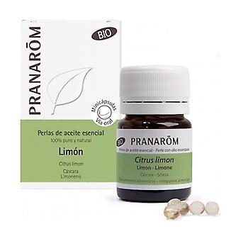 Organic Lemon Peel Mini Capsules 60 pearls