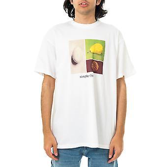T-shirt carhartt för män wip enkla saker t-shirt vit i029935.02