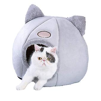 Pet Nest Removable Cats House Soft Dog Cave Winter Warm Bag Room