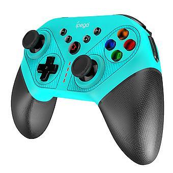 Bluetooth Gamepad för N Switch NS Switch NS Switch Console Trådlöst Gamepad Videospel (blå)