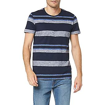edc by Esprit 089cc2k004 T-Shirt, Blue (Navy 400), Small Man