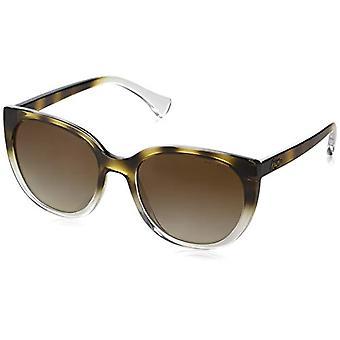راي بان 0RA5249 النظارات الشمسية، براون (أعلى هافانا الانحدار على كريستال)، 55 امرأة