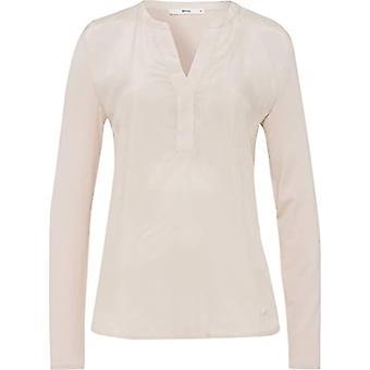 BRAX Style Clarissa T-Shirt, Natural, 42 Woman