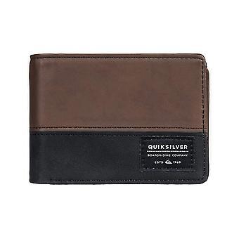 Quiksilver Nativecountry II Faux läder plånbok i Choklad Brown