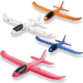 FengChun 4Pcs 13,5 Zoll Flugzeuge, manuelle werfen Outdoor-Sportspielzeug für anspruchsvolle, Kinder