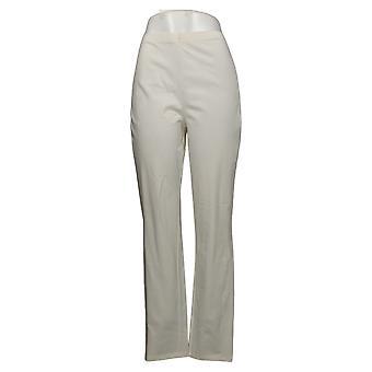 Femmes avec contrôle Shapewear Tushy Lifter Slim Leg Pants Blanc A310956