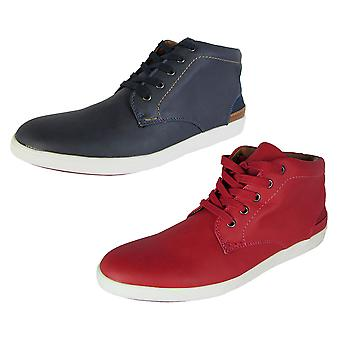 Madden by Steve Madden Mens M-Fray Lace Up Hi-Top Sneaker Shoes
