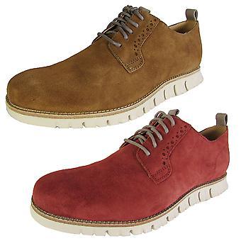 Cole Haan Zapatos de zapatillas de deporte ZeroGrand Plain Oxford Lace Up