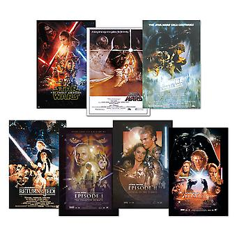 Star Wars Plakat Sæt Film Plakat 68,5 x 101,5 cm 101,5 x 68,5 cm