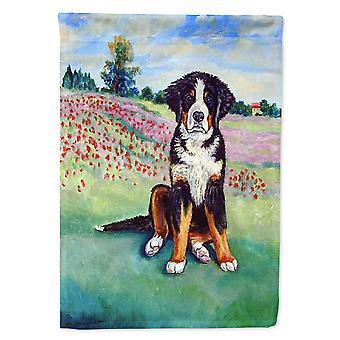 Caroline's Treasures 7011Chf Bernese Mountain Dog Flag Canvas, Grande, Multicolor