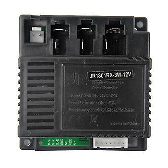 שלט רחוקjr1801rx-12v מקלט לרכב חשמלי של ג'וניור 1801rx-3w-12v