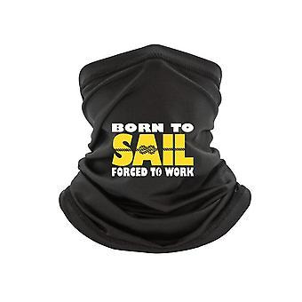 T-sjaal Zeilschip Yacht Sea Birthday Fashion