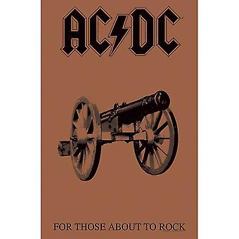 AC/DC - Per coloro che si accertano a rock textile poster
