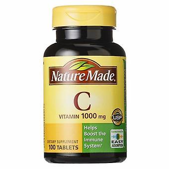 Nature Made Vitamin C, 1000mg, 100 Tabs