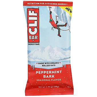 Clif Bar Peppermint Bark, Case of 12 X 2.4 Oz