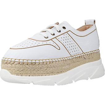 Yellow Sport / Street Party Leather White Shoes
