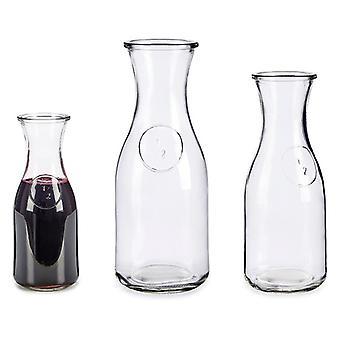 Viinin dekantteri läpinäkyvä lasi (500 ml)