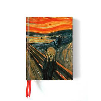 Edvard Munch The Scream Foiled Journal by Created by Flame Tree Studio