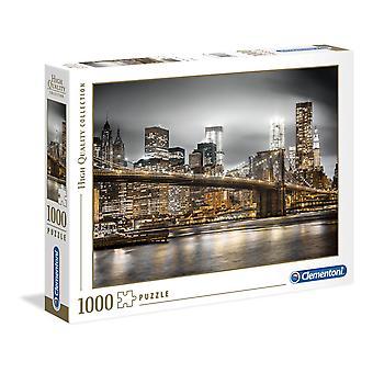 Clementoni New York Skyline Korkealaatuinen palapeli (1000 kappaletta)