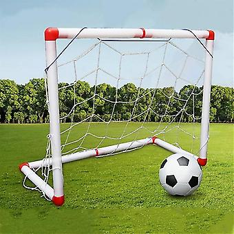 Sport Fußball Spielzeug 126cm Große Einzeltür Indoor und Outdoor Fußball Tor Ballpumpe Kinder