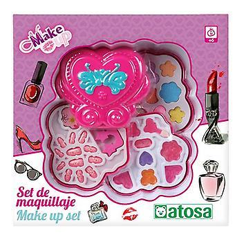 Kinderen Make-up Set Hart Roze