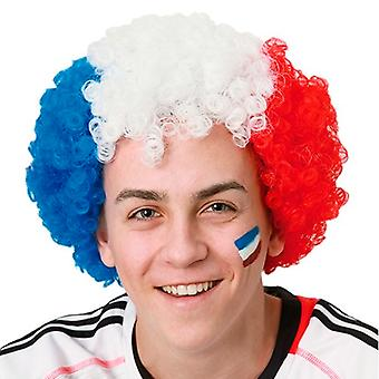 Bandiera francese Afro Wig