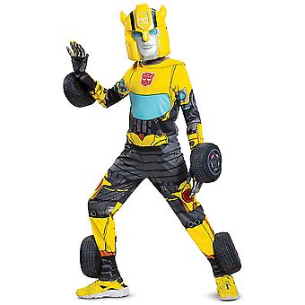 Bumblebee Conversion Transformer Transformers Superhero Enfant Garçons Costume