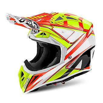 Airoh Aviator 2.2 Motorcycle Helmet Double Orange