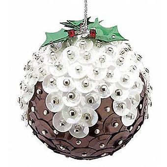 Pinflair Sequin & Pin Mini Christmas Puddings - Makes 3