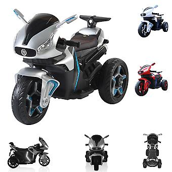 Kids Electric Motorcycle Shadow Headlight Music Function MP3 Sortie LED Light