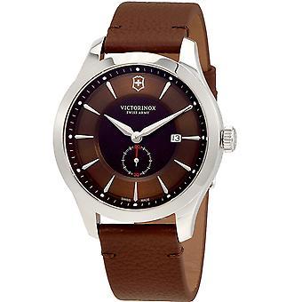 Victorinox Men's Alliance Brown Dial Watch - 241766