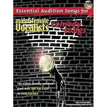 Essential Audition Songs: Comedy Songs (PVG/CD)
