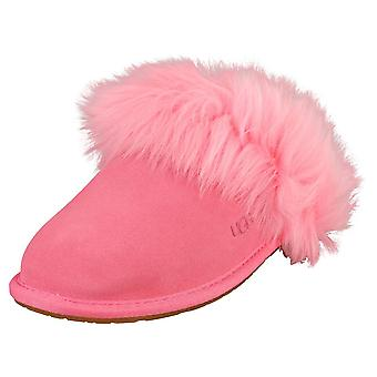 UGG Scuff Sis Womens Slippers Shoes in Pink Rose