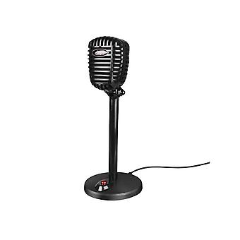 Karaoke Microphone Wired Studio Hd Noise Cancelling Condenser Tabletop Usb Mircophone For Computer Professional Retro Mic