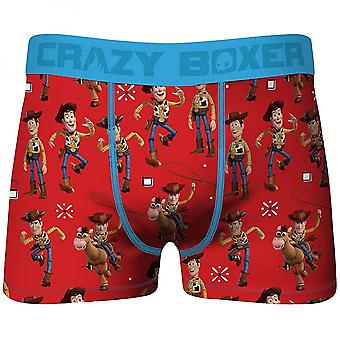Crazy Boxers Disney Toy Story Woody Men's Boxer Briefs
