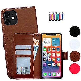 Iphone 12 Mini - Étui en cuir / Protection